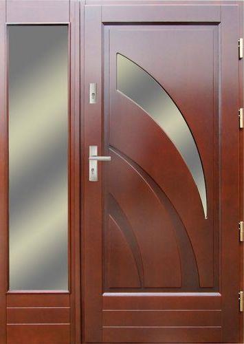 Drzwi zewn trzne drewniane drzwi ory rybnik katowice for Drzwi z portalem